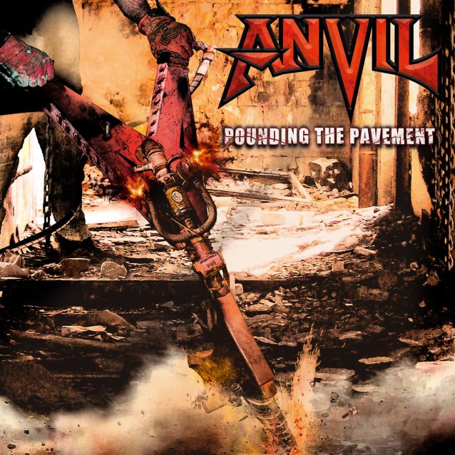Anvil To Release 'Pounding The Pavement' Album In January