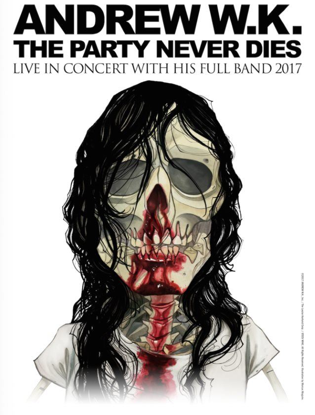 ANDREW W.K. To Release First Album In More Than A Decade