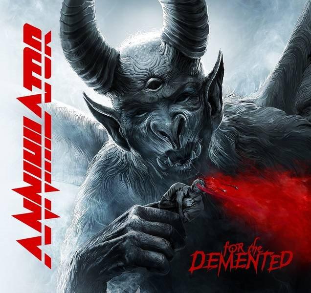ANNIHILATOR - For The Demented - (3 novembre 2017) Annihilatororthedementedcd