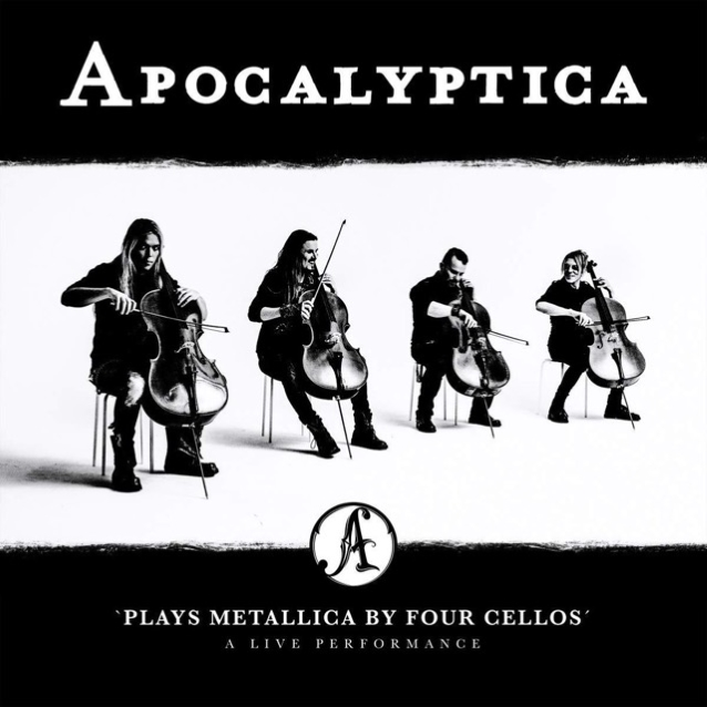 Apocalyptica To Release 'apocalyptica Plays Metallica By Four Cellos - A Live Performance' In December