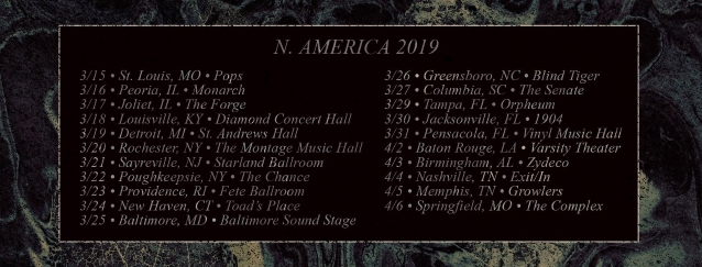 AS I LAY DYING Announces Spring 2019 U.S. Tour