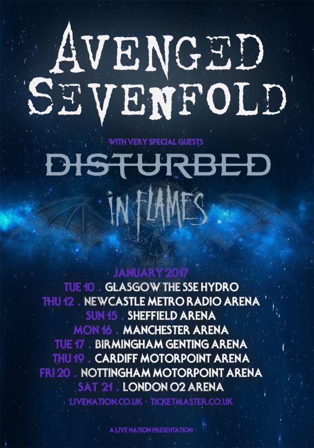 Avenged Tour Dates