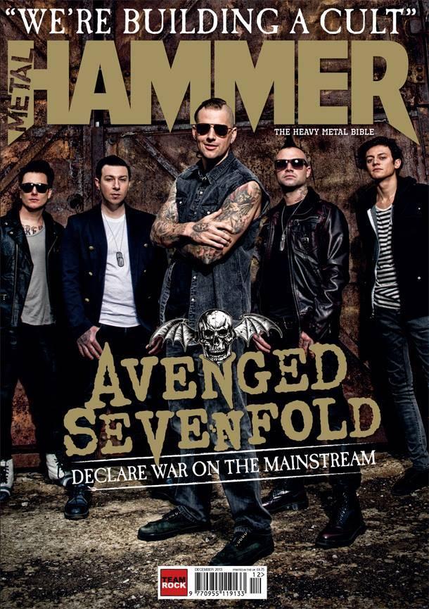 avengedsevenfoldhammerdec2013cover