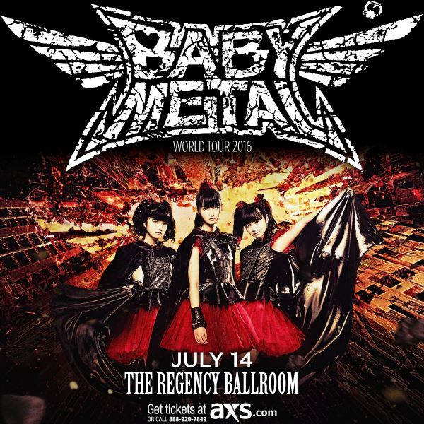 babymetalsanfrancisco2016poster