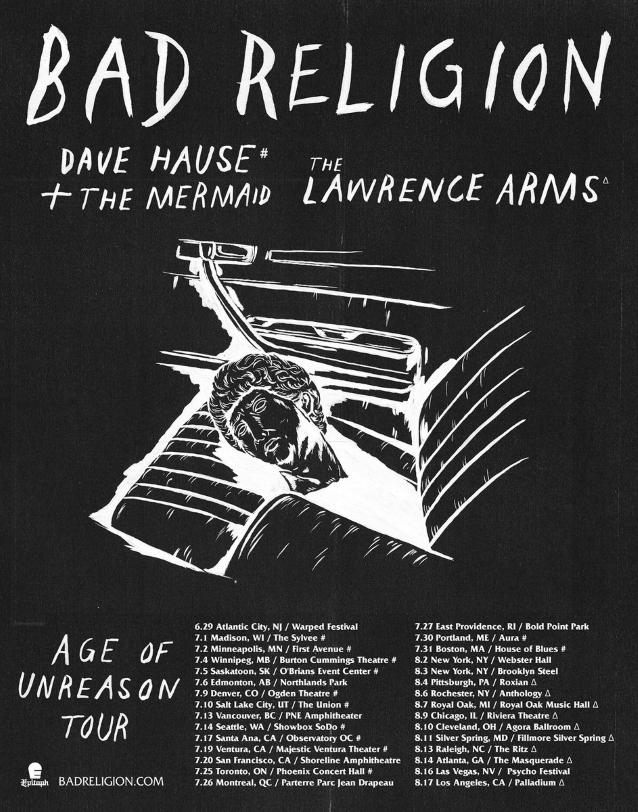 bad religion announces summer 2019 north american tour. Black Bedroom Furniture Sets. Home Design Ideas