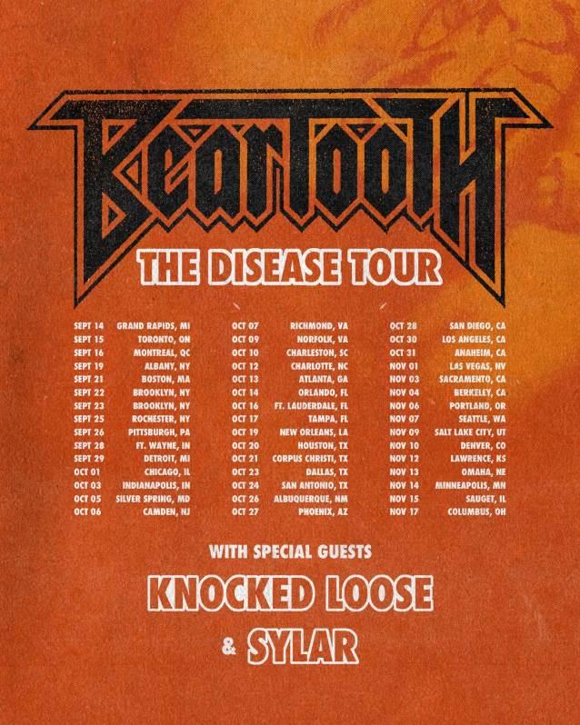 BEARTOOTH's Fall 2018 U.S. Tour: BLABBERMOUTH.NET Presale