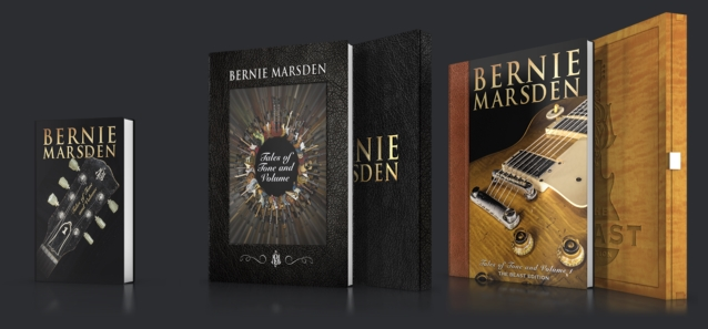 Original WHITESNAKE Guitarist BERNIE MARSDEN To Release 'Tales Of Tone And Volume' Book In November