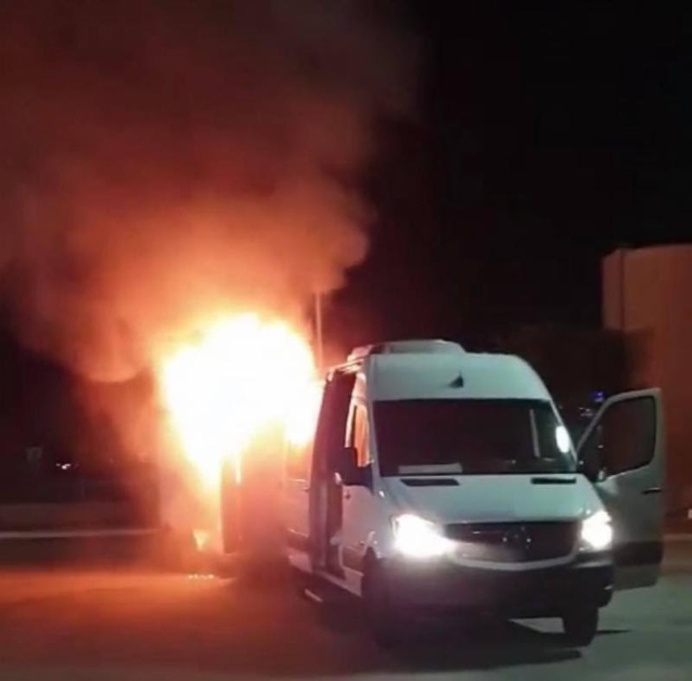 Van Fire Causes Cancelation Of BETRAYING THE MARTYRS Tour Dates