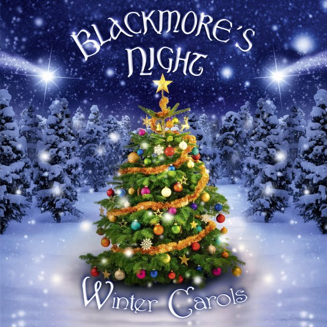 BLACKMORE'S NIGHT: 'Winter Carols' Re-Release To Include Three New Recordings