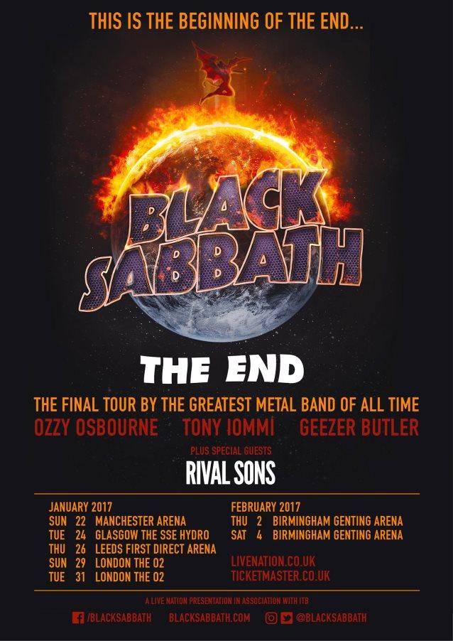 Black Sabbath Reaches 'The End' As Band Performs Final ...