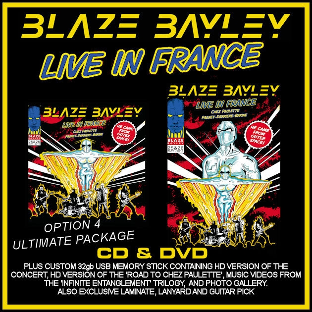 BLAZE BAYLEY - Endure And Survive (3 mars) Blazebayleyliveinfrancecd