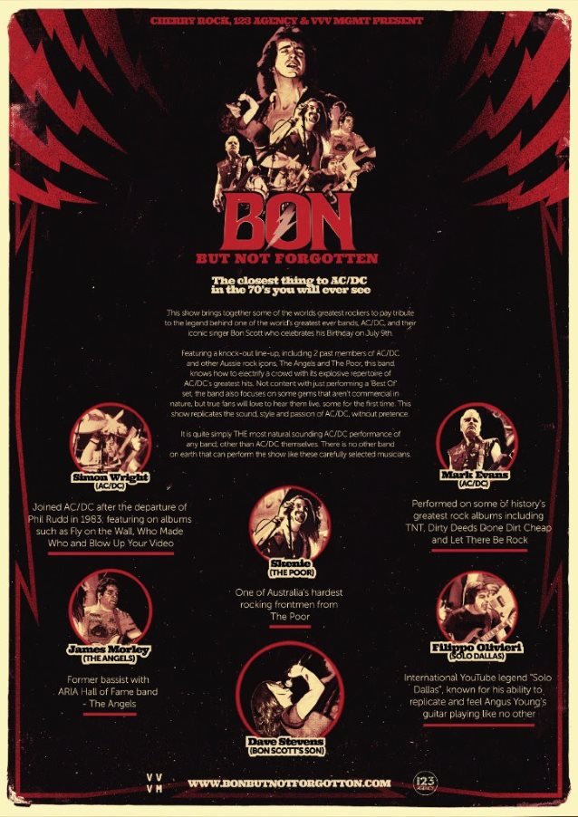 Former Ac/Dc Members And Other Australian Rock Legends Unite For Bon ...