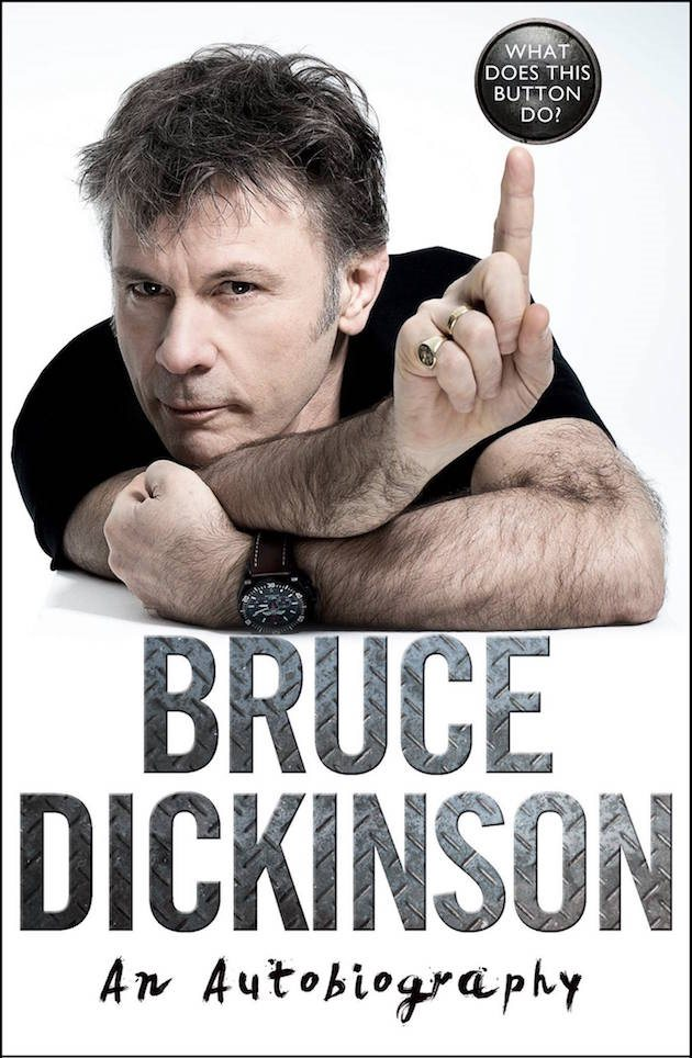 IRON MAIDEN's BRUCE DICKINSON Didn't Want To Be 'Nasty' To Other People In His Autobiography