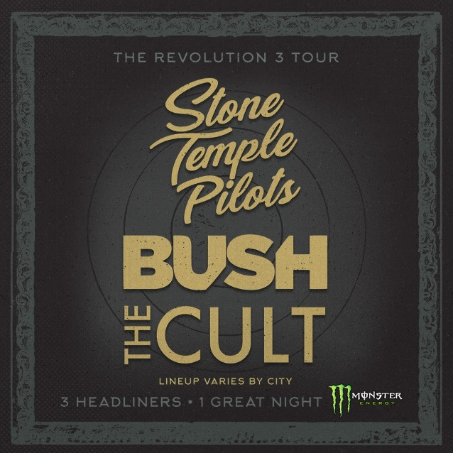 Watch Stone Temple Pilots Bush And The Cult Perform At The