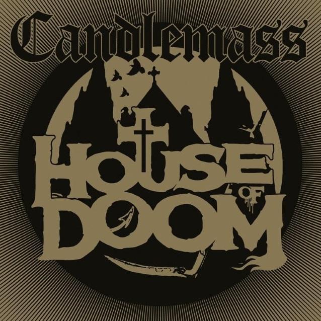 CANDLEMASS - House Of Doom (EP+ jeu, 25 mai) + The Door to Doom (album, février ) Candlemasshouseofdoomep