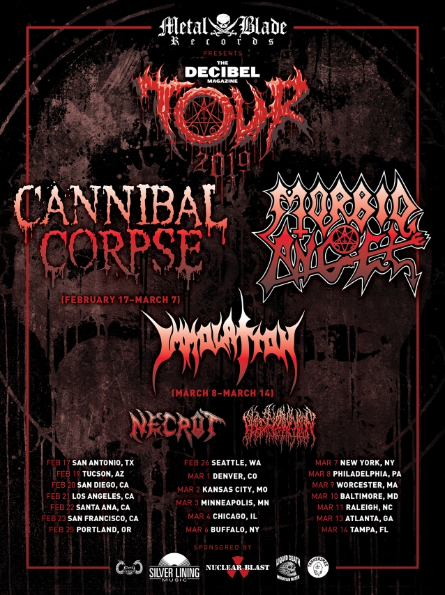 CANNIBAL CORPSE Performs With ERIK RUTAN For First Time (Video)