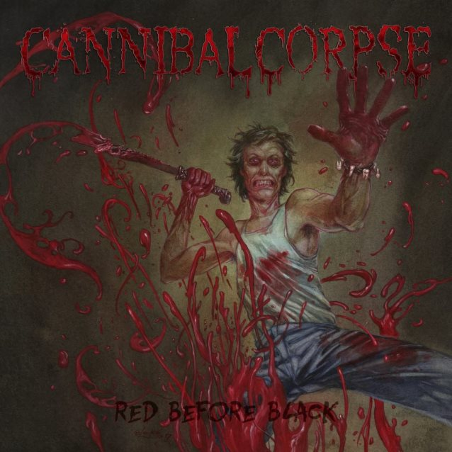 Cannibal Corpse - Red Before Black ( 3 Nov 2017) Death Metal US Cannibalcorpseredbeforeblack