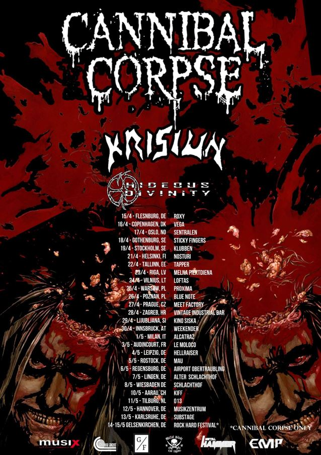 cannibalkrisiun2016tourposter