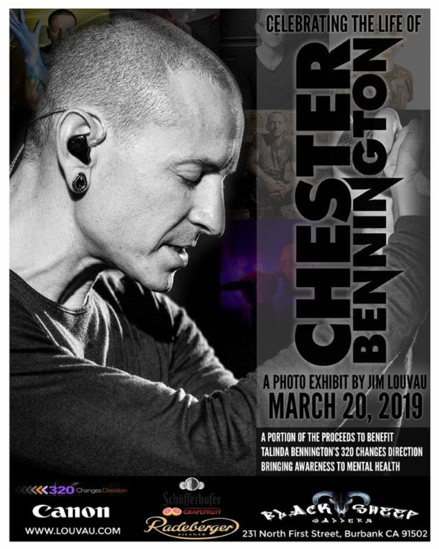 Celebrating The Life Of Chester Bennington: A Photo Exhibit By Jim
