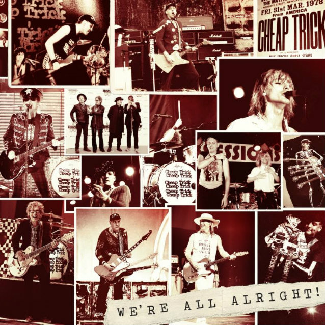 Cheap Trick Joins Forces With Pledge Music For We Re All