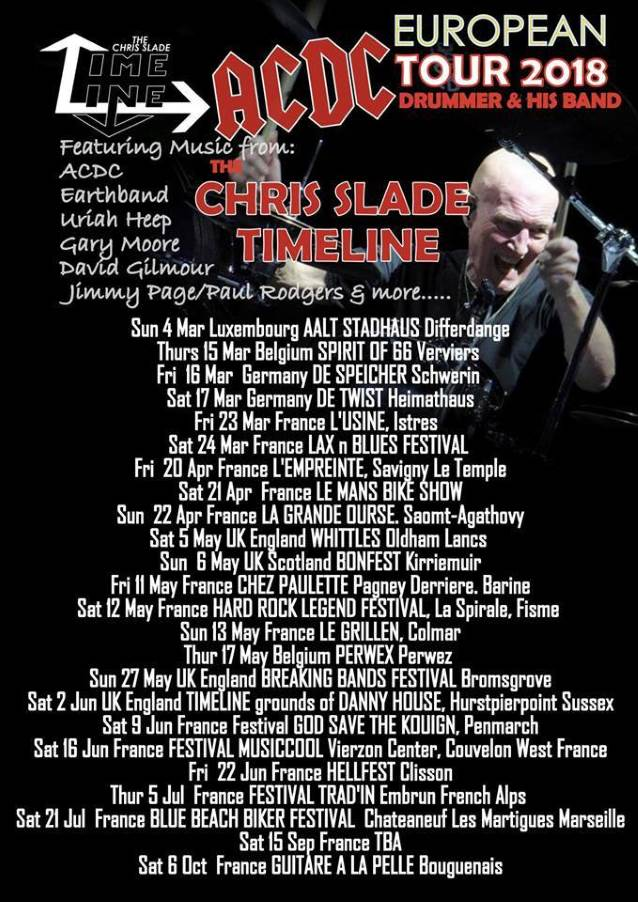 CHRIS SLADE Performs AC/DC Classics In France (Video)