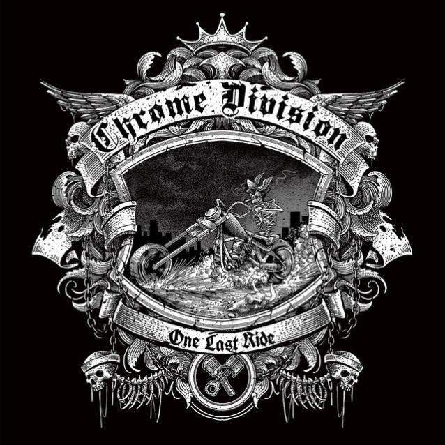Chrome Division Feat. Dimmu Borgir's Shagrath: 'i'm On Fire Tonight' Lyric Video
