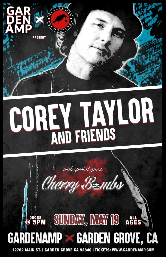 Slipknot's Corey Taylor Announces Another Southern California Solo