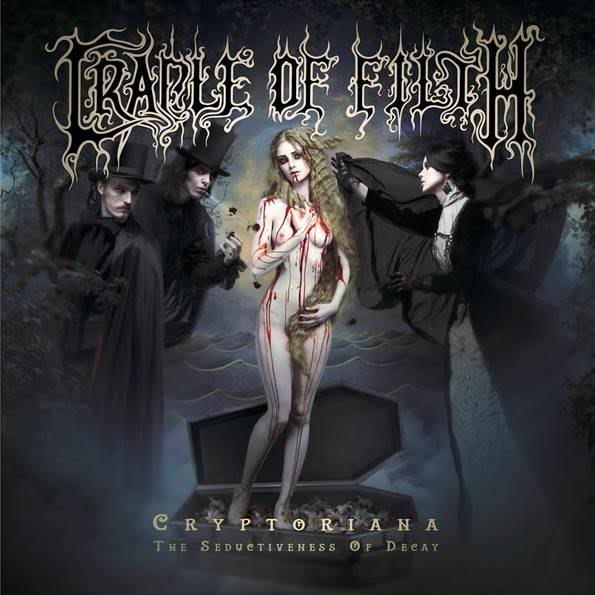 CRADLE OF FILTH  - Cryptoriana : The Seductiveness Of Decay (22 Septembre) Cradleoffilthcryptcd