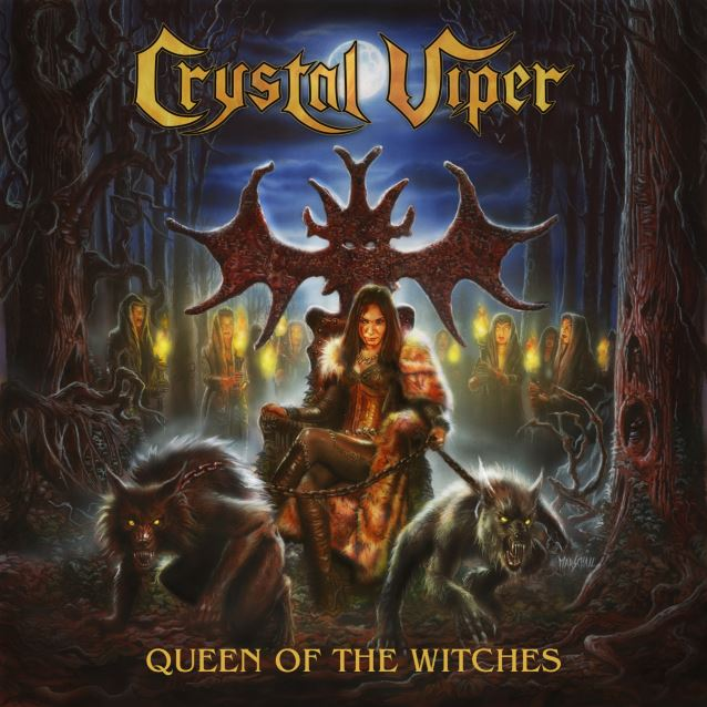 Image result for album art Crystal Viper: Queen Of The Witches
