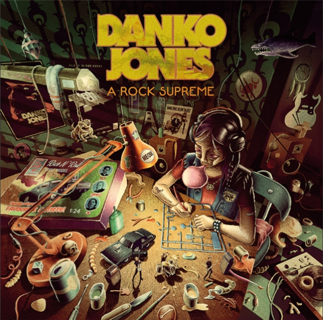 Danko Jones: A Rock Supreme (2019) Dankojonesarocksupreme