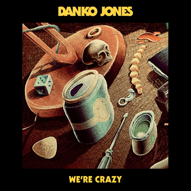 DANKO JONES Releases New Single 'We're Crazy'