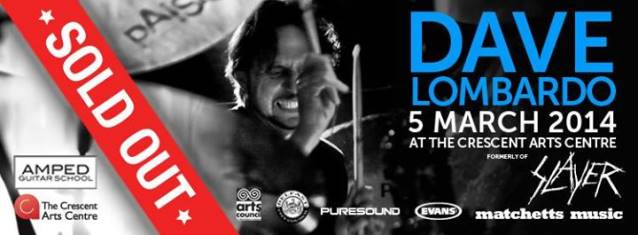 Dave Lombardo Says He Made Only $67,000 In 2011 While Touring With