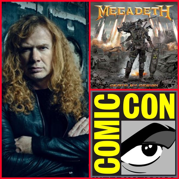 Megadeth's Dave Mustaine To Sign Copies Of 'Death By Design' Graphic