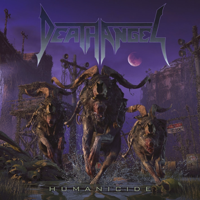 Death Angel  Deathangelhumanicidecd