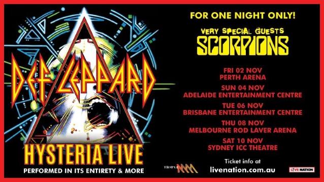 KLAUS MEINE's Illness Forces SCORPIONS Sydney Concert Cancelation