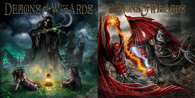 Image result for demons and wizards band