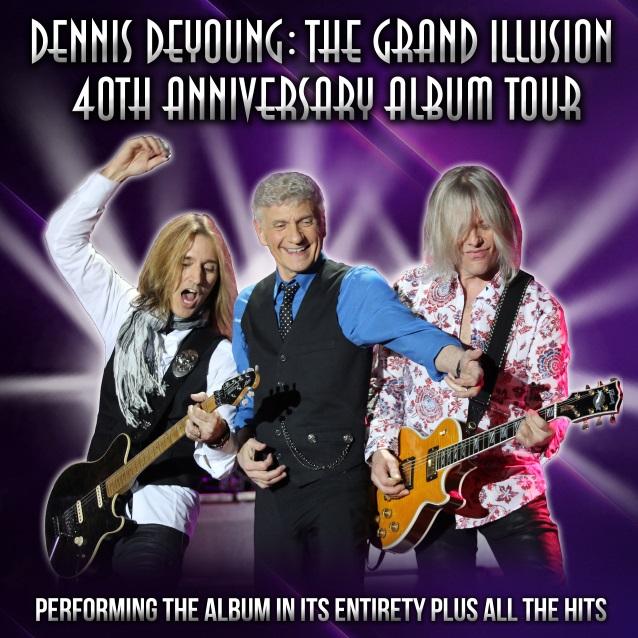 Styx Grand Illusion Tour Dates
