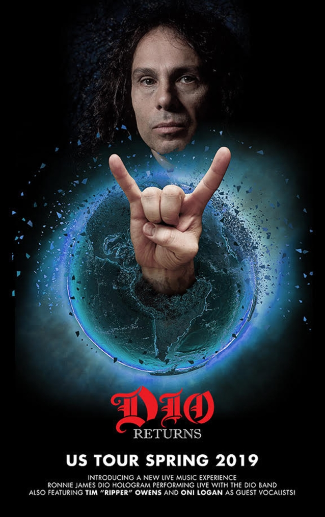 Ronnie James Dio Hologram To Play Over 100 Shows In 2019