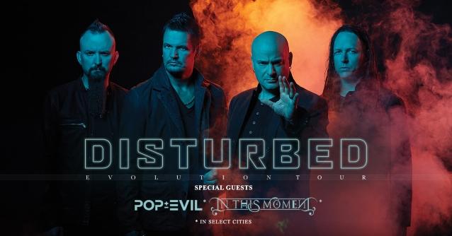 DISTURBED Announces Second Leg Of 'Evolution' North American Tour