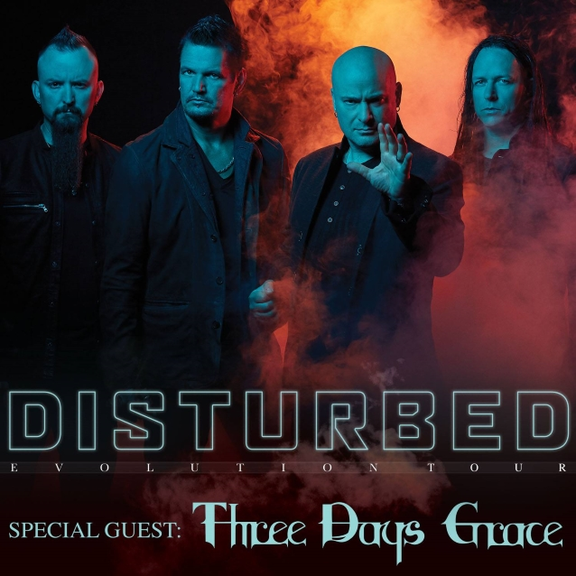 Disturbed: Disturbed Announces 'Evolution' North American Tour With
