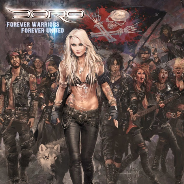 DORO PESCH: 'In This Time And Age, It's So Important To Give Out Positive Energy'