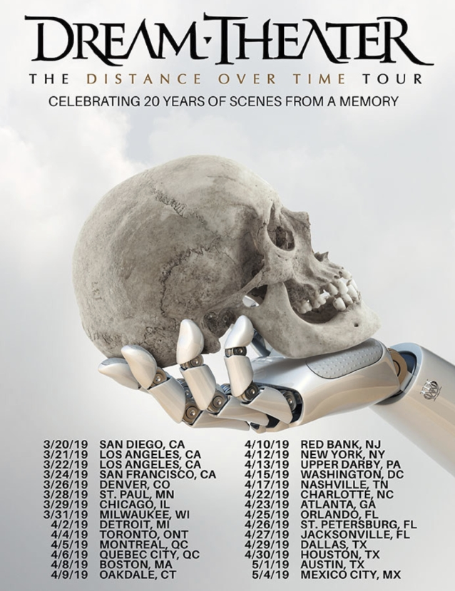 dream theater distance over time  Dream Theater: New Album 'Distance Over Time' To Arrive In February ...