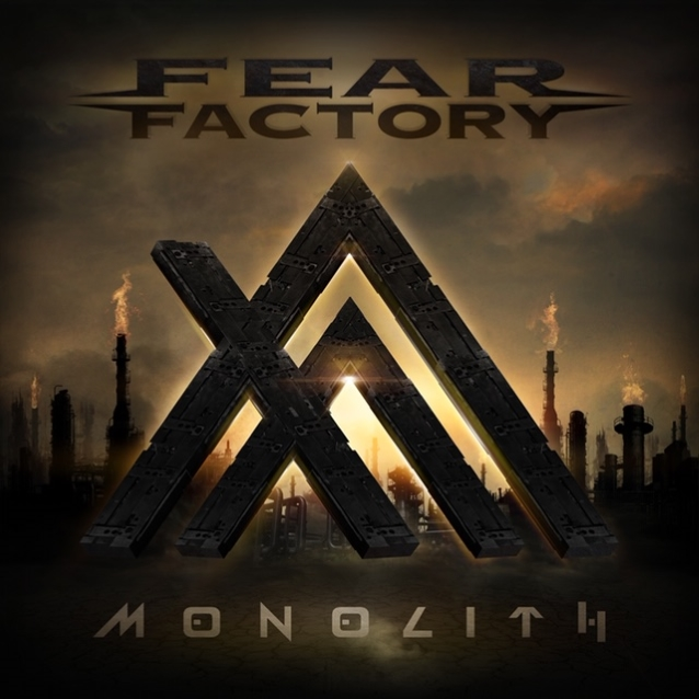 FEAR FACTORY - Monolith (2019) Feafactorymonolithcoverbrown