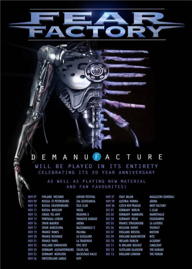 fear factory tour webisode feat footage from strasbourg france and ghent belgium