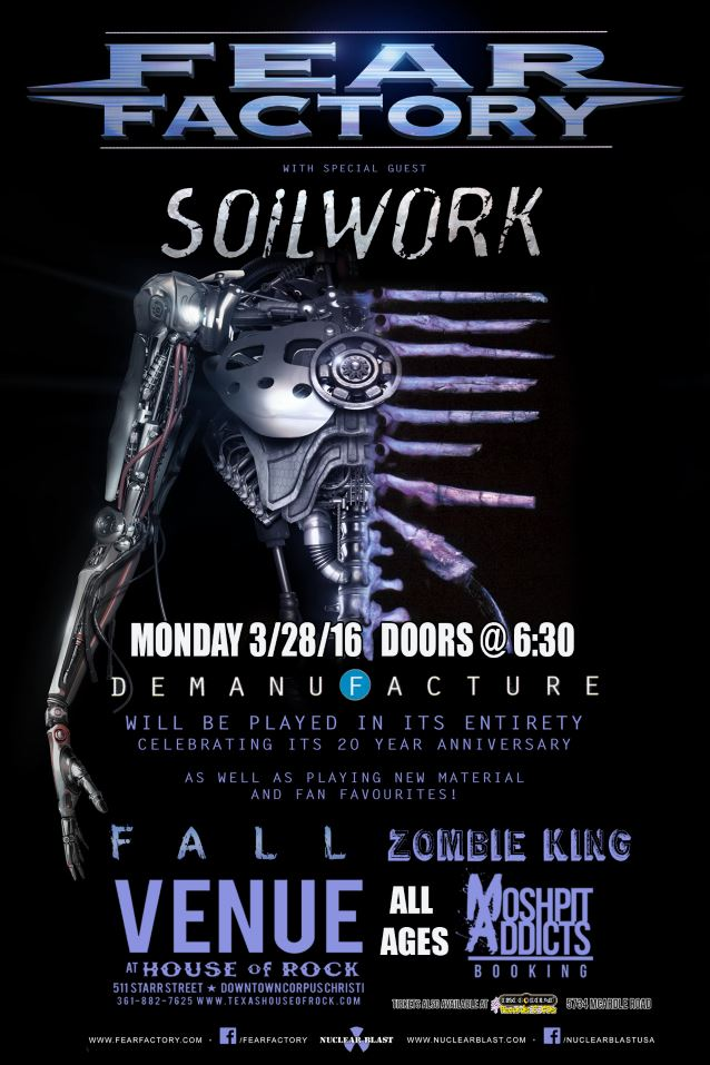 fearfactorysoilworkcorpusmarch2016poster