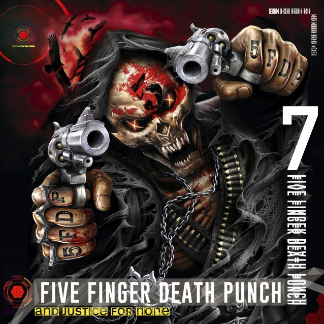 FIVE FINGER DEATH PUNCH - And Justice For None (18 mai 2018) Ffdpjusticedeluxe