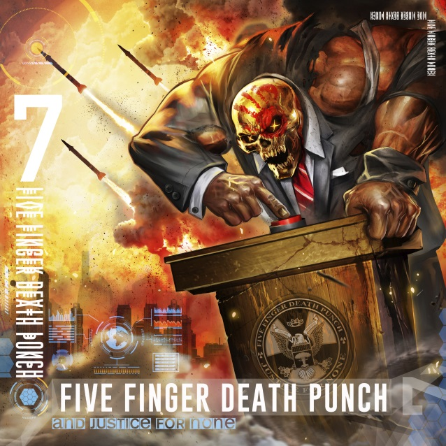 Five Finger Death Punch To Release 'And Justice For None