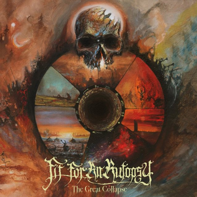 Image result for album art Fit For an Autopsy: The Great Collapse
