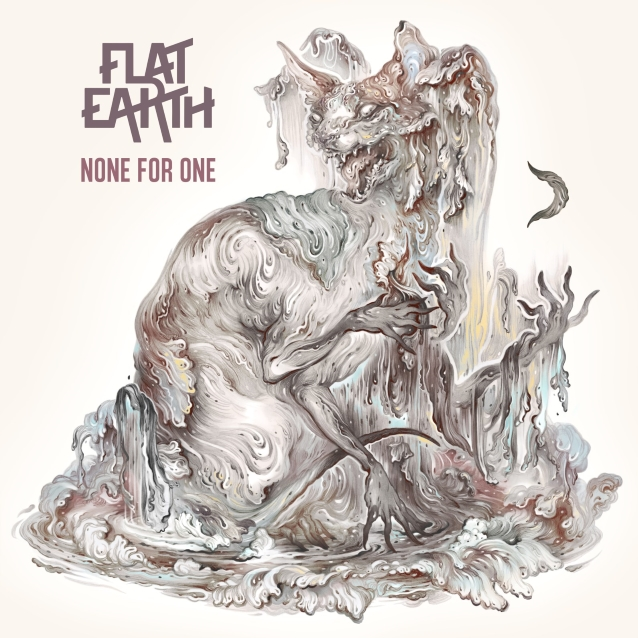 FLAT EARTH Feat. Former HIM And AMORPHIS Members: 'Cyanide' Lyric Video