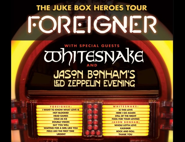 Foreigner Announces Juke Box Heroes Us Summer 2018 Tour With